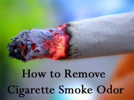 Tips & Tricks for How to Remove Cigaretts Smoke Odor From Your Home
