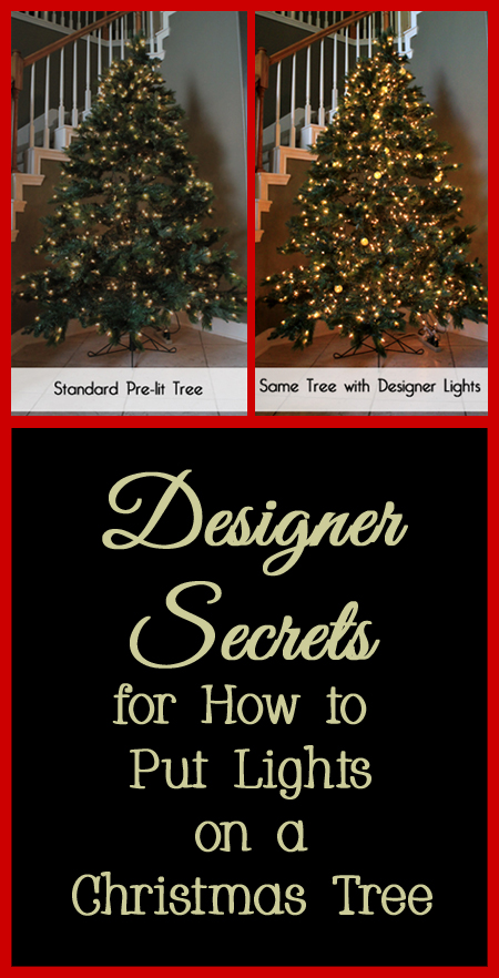 Tips and Tricks for How to Put Lights on a Christmas Tree