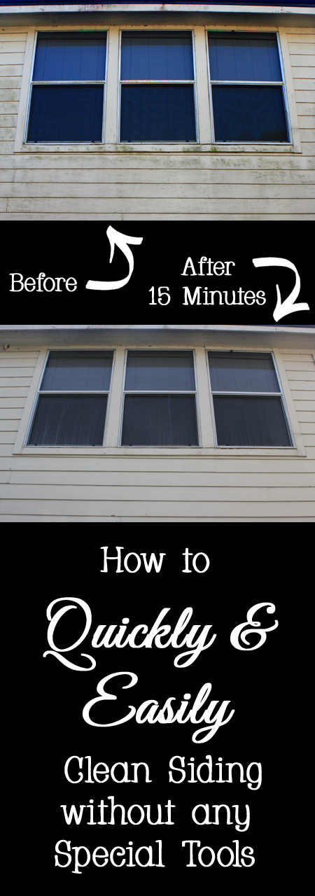 How to Quickly and Easily Clean Siding without Any Special Tools