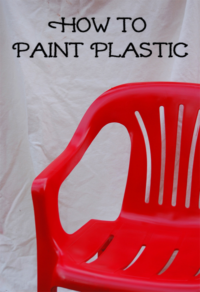 Tips and Tricks for How to Paint Plastic