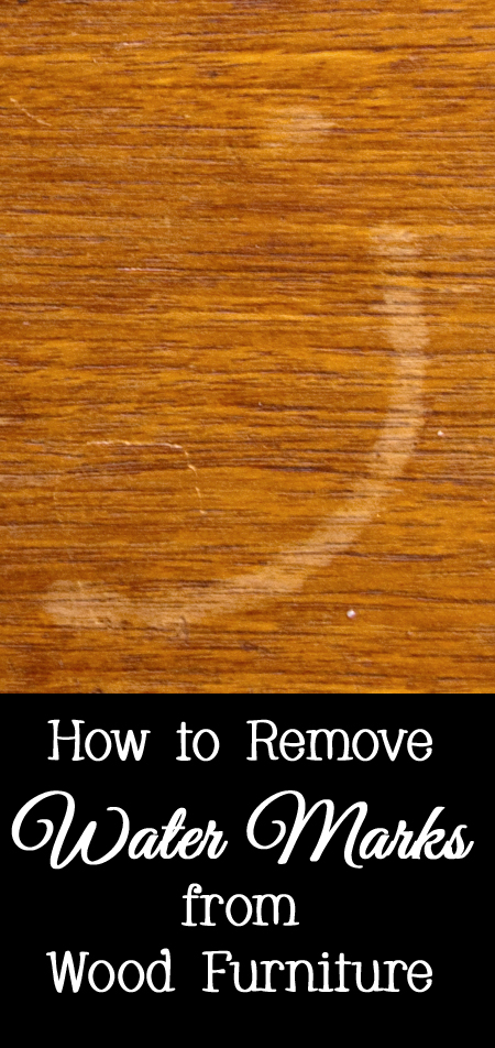 Tips and Tricks for How to Remove Water Marks from Wood Furniture