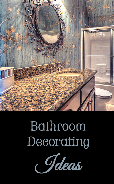 Bathroom Decorating Ideas - decor, interior design, paint, color, rug, mirror, light fixture, vanity, storage, window treatments