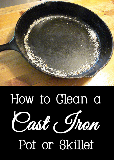 Tips and Tricks for How to Clean a Cast Iron Pot or Skillet
