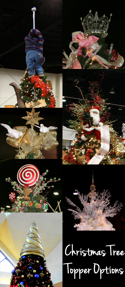 Lots of Cool Christmas Tree Topper Options