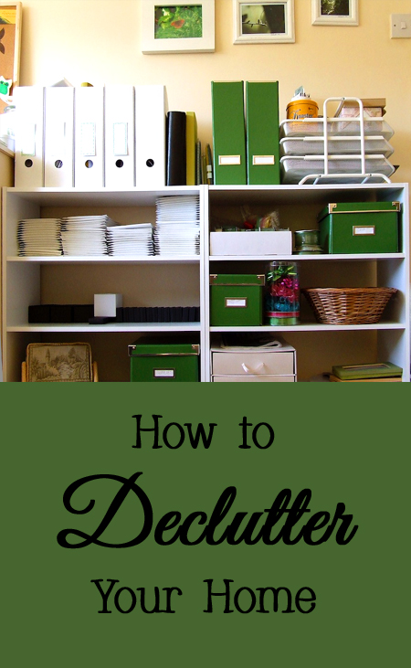 Tips and Tricks for How to Declutter Your Home