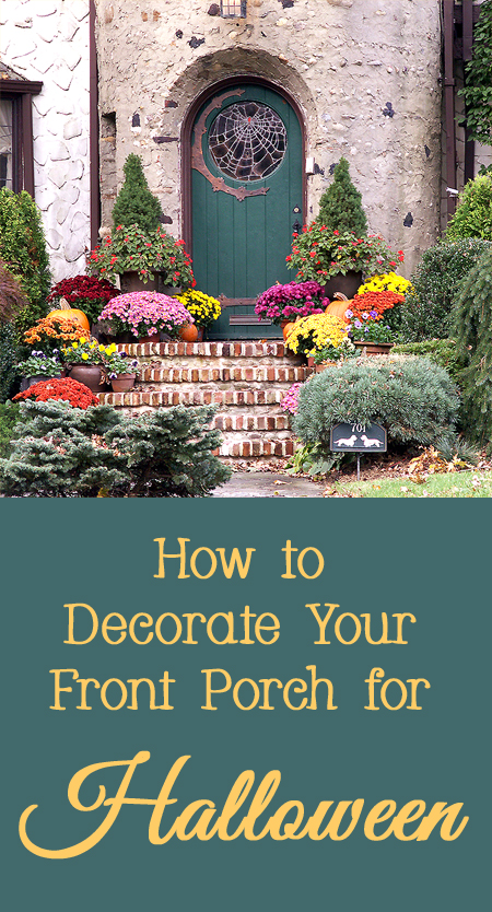 Fun and Clever Ideas for How to Decorate Your Front Porch for Halloween