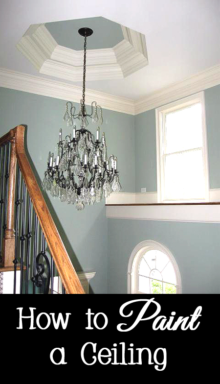 Tips and Tricks for Painting a Ceiling