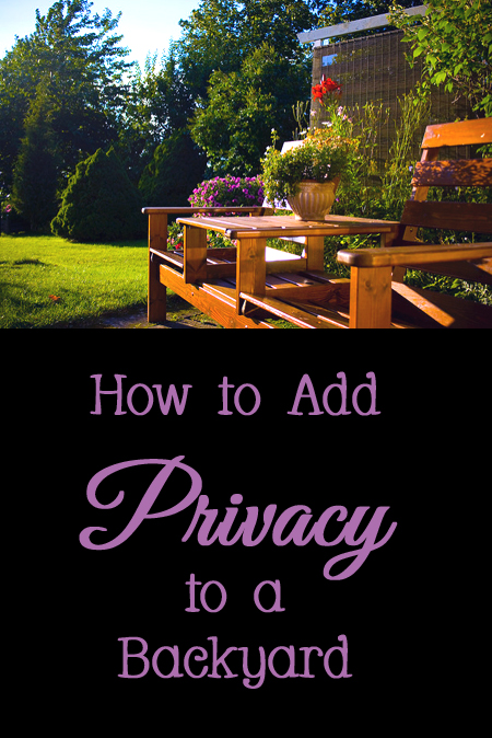 Tips and Tricks for How to Add Privacy to a Backyard