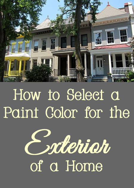 Tips and Tricks for How to Select a Paint Color for the Exterior of a Home