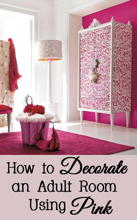 Decorating an Adult Bedroom with the Color Pink