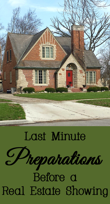 Tips and Tricks for Last Minute Preparations Before a Real Estate Showing