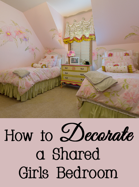 Tips, Tricks, and Ideas for How to Decorate a Shared Girls Bedroom