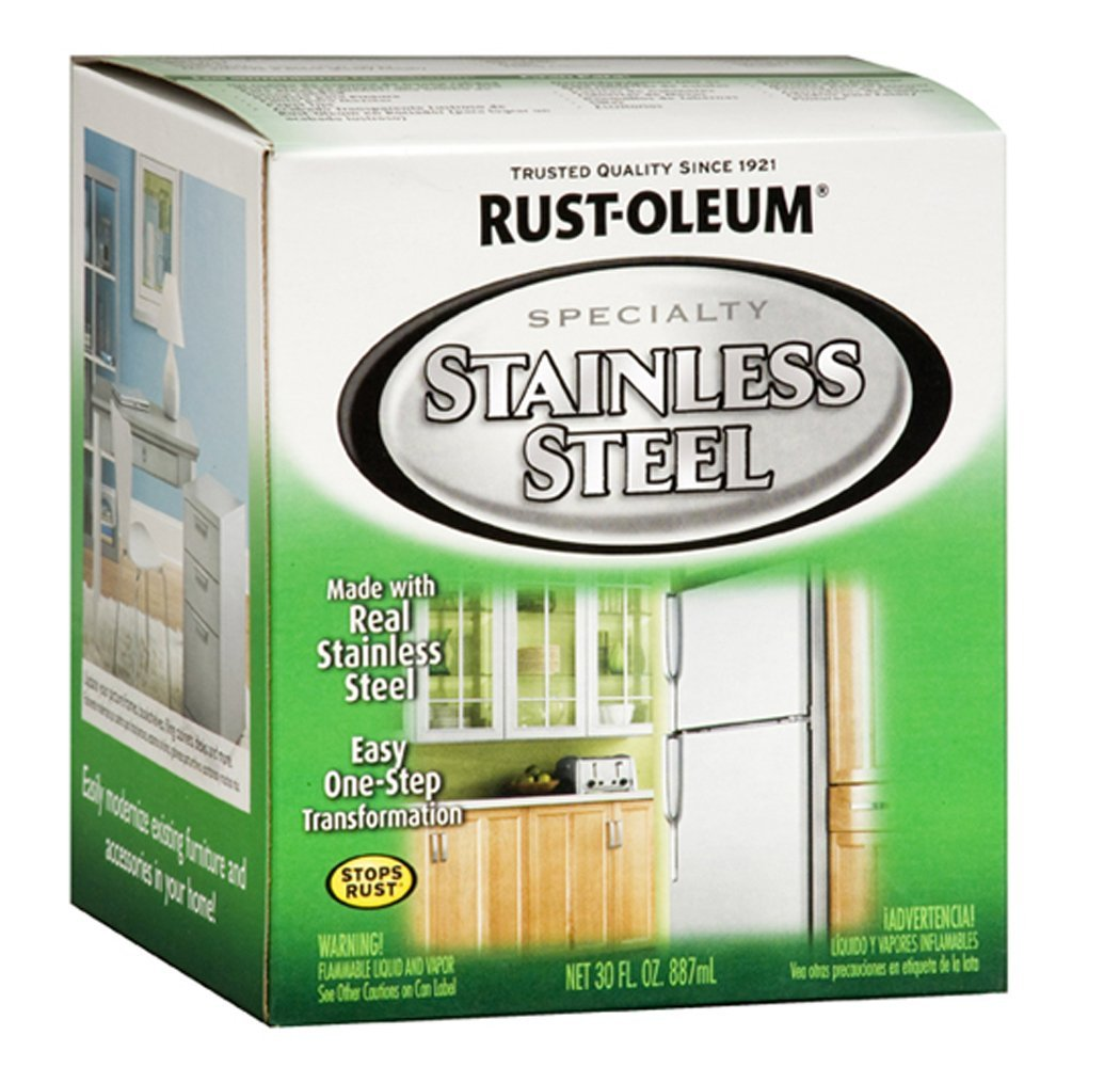 Tips and Tricks for How to Faux Paint to Look Like Stainless Steel